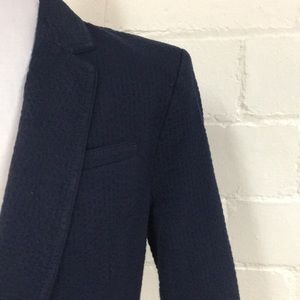 Banana Republic Jackets & Coats - BR Seersucker Doublebreasted Blazer in Preppy Navy
